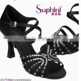 Black upper dance latin wear