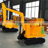 Amusement park items kids electric digger playground excavator