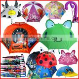 2015 wholesale cheap new character design Kids Umbrella,Cartoon Umbrella,Animal Umbrella