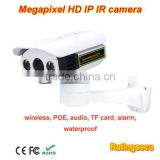 Outdoor 1.3 Megapixel Waterproof POE IP ONVIF IR TF Card Company& Office Surveillance Network Camera