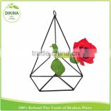 industrial rustic black geometric Home Decor Wall Art Air Plant Holder (Pyramid) christmas wedding indian hanging decoration
