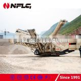 Professional technology hard rock mobile crushing plant for great sale