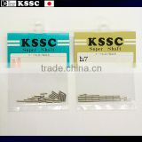 Ultra-fine and Excellent parallel straight pin KSSC Super Shaft for miniature model cars for industrial use , Small amount bag
