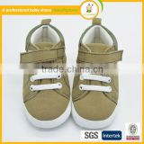 High quality wholesale baby kids children casual sport safety shoes hot sale baby high ankle canvas shoes