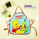 printed wennie cartoon kid's bib cotton apron