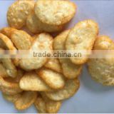 Palatable Snack Food Crab flavor rice cake crackers new product