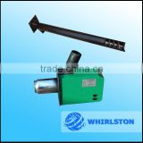 whirlston easy operating pellet fired burner