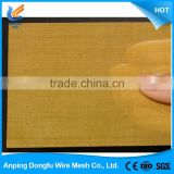 lowest price china manufacture copper wire mesh architectural decorative copper wire mesh