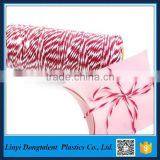 2017 High Quality Wholesale Red and White butcher's Cotton Bakers Twine
