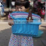 wicker Hot sale shopping bike baskets