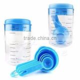 500ml Plastic measuring cup with spoon set