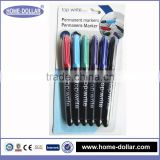 Durable wholesale high quality bulk cheap hot sale functional permanent marker pen in office