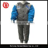 new autumn winter set Children Tracksuit kids clothing suit boy hoodie coat and trousers