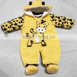 Custom design kids clothes wholesale fashion infant Newborn jumpsuit baby clothes winter kid Clothing baby animal romper