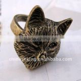 fashion antique animal ring jewelry, hot animal jewelry, costume jewelry