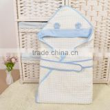 KS00107C Best quality thin section 100% cotton baby swaddle wrap soft new born baby blanket
