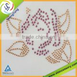 high quality hot fix crystal rhinestones/dmc crystal hot fix stone/hot fix crystal