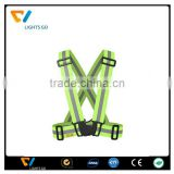 Hi Viz Night Cycling Riding Running Outdoor Sports Brilliant Green Reflective Safety Vests