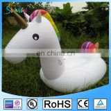 Outdoor Swimming Pool Floatie Lounge Toy Giant Inflatable Air Mattress Unicorn Float For Adults and Kids