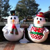 Hot sale giant inflatable Snowman for Christmas decor