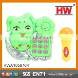 Electric Plastic Kid Toy Musical Telephone