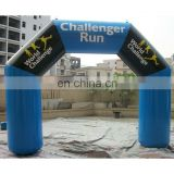inflatable promotional digital printing arch,sports arch way