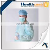Disposable cpe plastic gown best selling,pp/cpe/sms surgical drapes gowns,Disposable CPE gown with thumb up