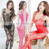 hot sale sleeveless fishnet mature sexy lingerie BODYSTOCKING