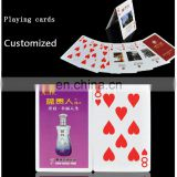Customized playing cards with you logo or design Poker Size Standard Index Playing Cards