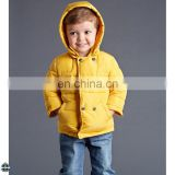 T-BC007 Yellow Winter Jacket French Fashion Cheap Boys Coat