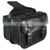 leather saddle bag - Motorcycle Leather Saddle Bag