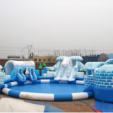 Inflatable amusement equipment water park Express expedition water park I