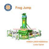 Zhongshan amusement park equipment fall tower rides 5 seat Frog Jump mini drop ride jumping machine, crazy for kids