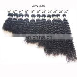 High quality virgin remy unprocessed brazilian human hair weave