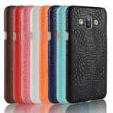 Crocodile leather hard back shell case SKIN cover For Samsung Galaxy J7 Duo