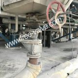 Electro-Hydraulic Anti wear Ceramic Lined Knife Gate Valve