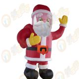 Inflatable castle / Santa Claus Christmas gift for children