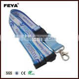 Custom cheap screen printed wrist key lanyards for sale