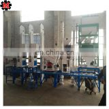 30-40T whole set complete rice milling machinery factory price