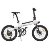 Xiaomi HIMO C20 Foldable Electric Moped Bicycle 250W Motor 25km/h Hidden Inflator Pump Shimano Variable Speed Drive