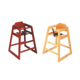Update International  High Baby Chair Natural
