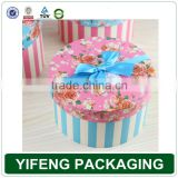 Custom high quality paper tube paper round box in China