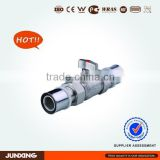 crimped press equal union ball valve for PAP pipe