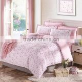 OEM service romantic pink twill fabric germany bed sets funny pillowcase duvet cover Italy