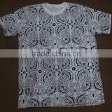 180GSM 100 cotton customized t shirt manufacturing companies custom sublimation t shirt