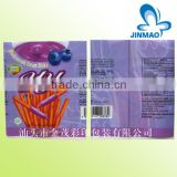 Plastic pvc shrink film bag with printing
