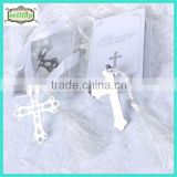 Hot sell cross engraved metal bookmark wedding souvenir                                                                         Quality Choice