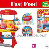 Food table set w/music ,kitchen play set