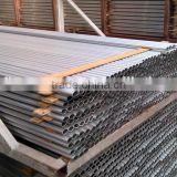 Natural anodized matt extruded aluminum oval tube (oval aluminum tube, aluminum extrusion oval tube)