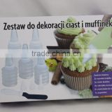 Cookie & Cupcake Decorating Set Decorating Bottles Decorating Tips